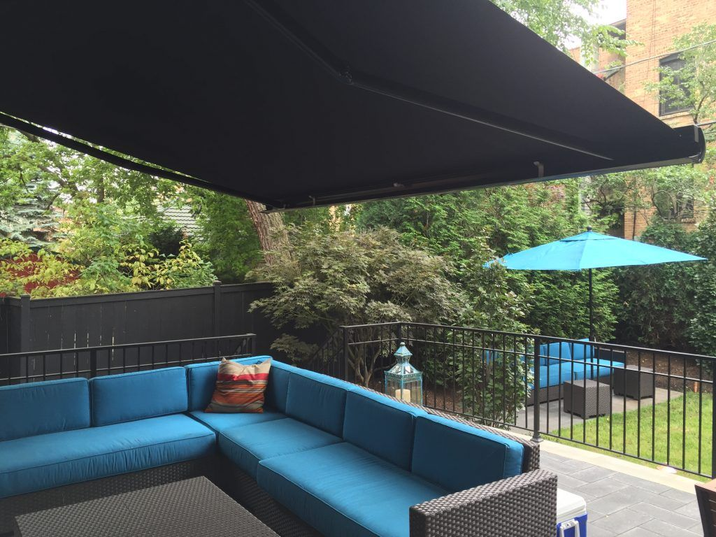 Not Your Grandmother S Retractable Awning Chicago S Awning Expert Retractable Awning Pergola Diy Awning