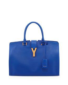 e07ee9dd84f4 L0BCZ Saint Laurent Y-Ligne Classic Cabas Carryall Bag