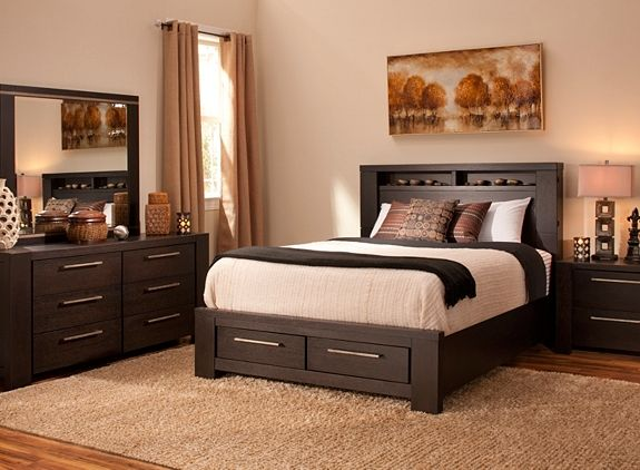 Metropolitan Home Tocara 4 Pc King Platform Bedroom Set W