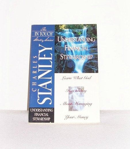 "The In Touch Study Series ""Understanding Financial Stewardship"" In Touch Study Paperback Book Dr. Charles Stanley Christian Study by SheCollectsICreate on Etsy"