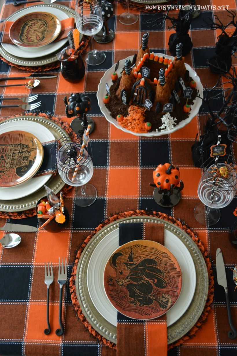 50 Elegant Halloween Tabletop Decoration Ideas | ~Halloween...scary ...