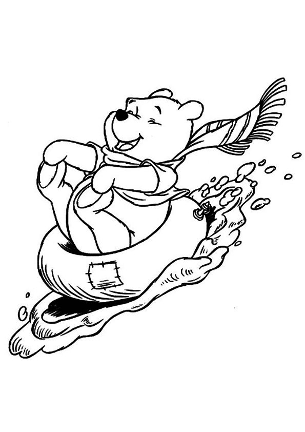print coloring image | Bears, Kids colouring and Girls camp