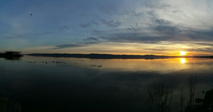 Sunset over the Tay #scotland