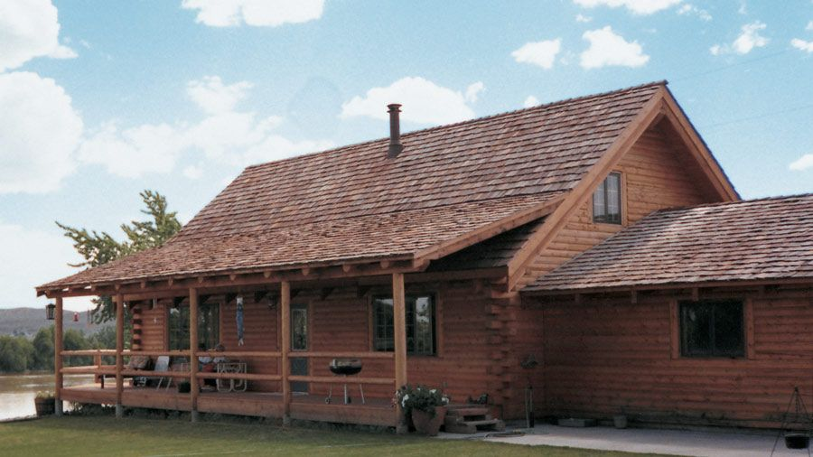 Log Home Design Plan and Kits for North Lake. Excellent price would ...