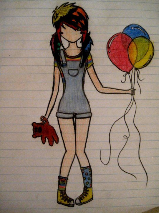 Cute couple drawing ideas tumblr google search art pinterest its a birthday emo girl cute emo drawing by emo voltagebd Choice Image