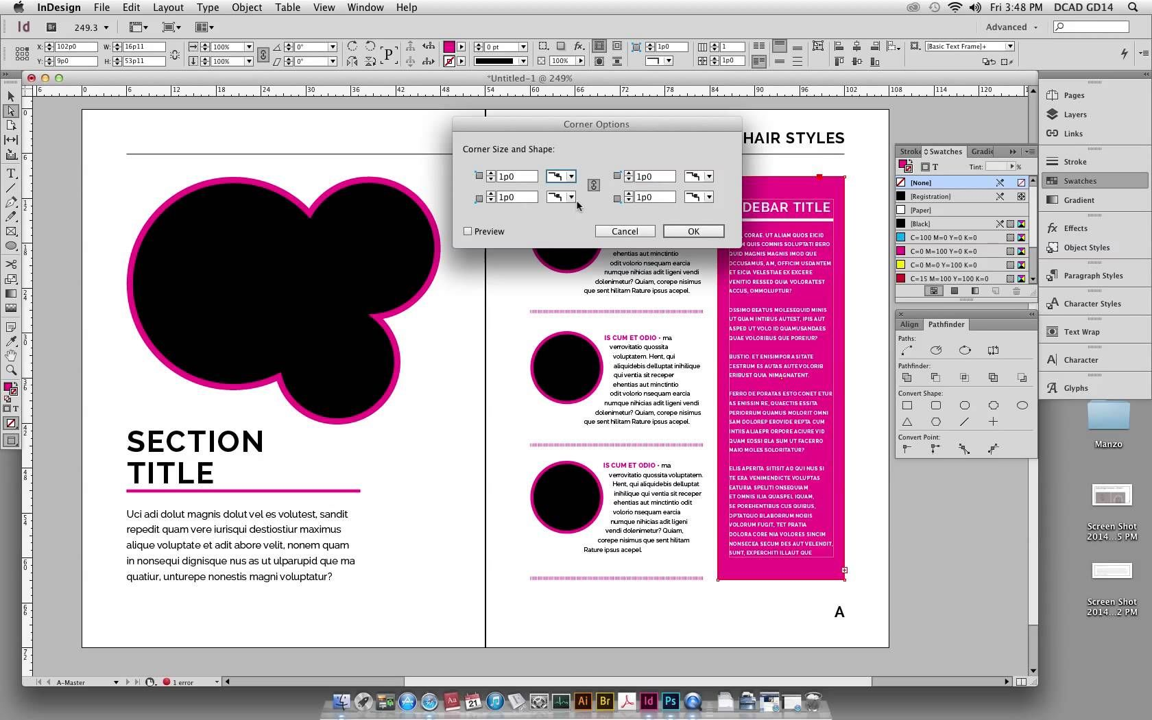 TUTORIAL: InDesign Book Setup | indesing-editorial | Pinterest ...