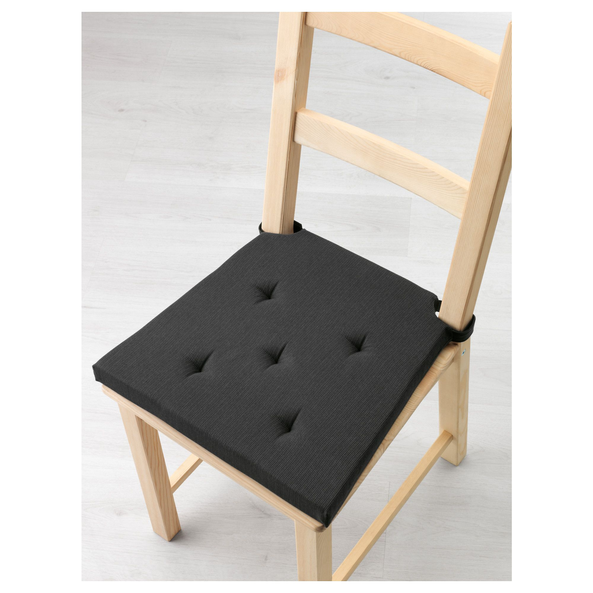 ikea justina chair pad gray black chair pads and products
