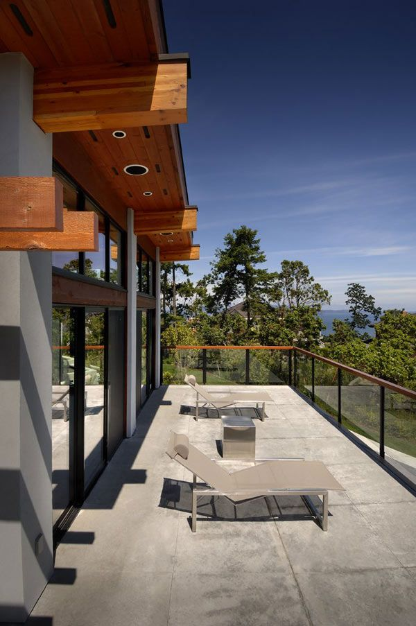 Waterfront House Plans In Beautiful British Columbia Terrace Design House Design Waterfront Homes