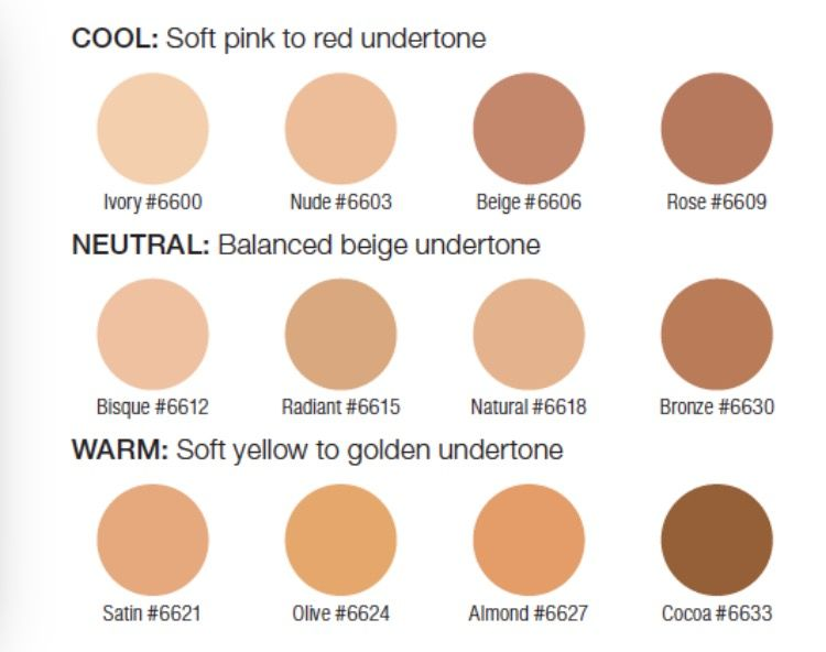 Our Foundation Colors Can Easily Match Any Shade Arbonne Makeup Foundation Colors Powder