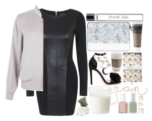 """""""fresh life."""" by bluveraa ❤ liked on Polyvore featuring Topshop, Casetify, Essie, Kinto, ASOS, Primera, Fresh, iittala, Ceramiche Pugi and Kill Star"""