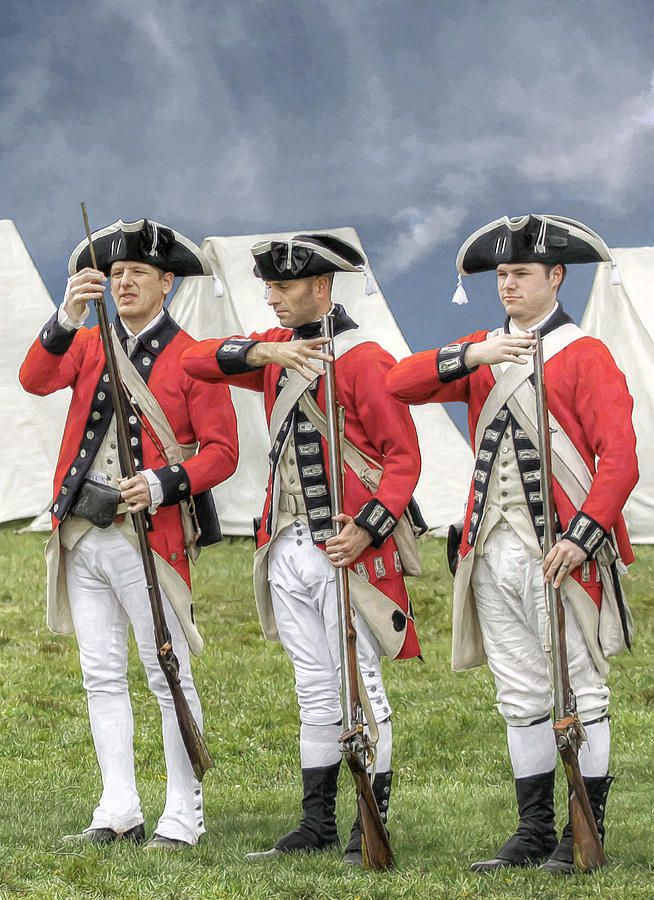 American revolutionary war and british troops