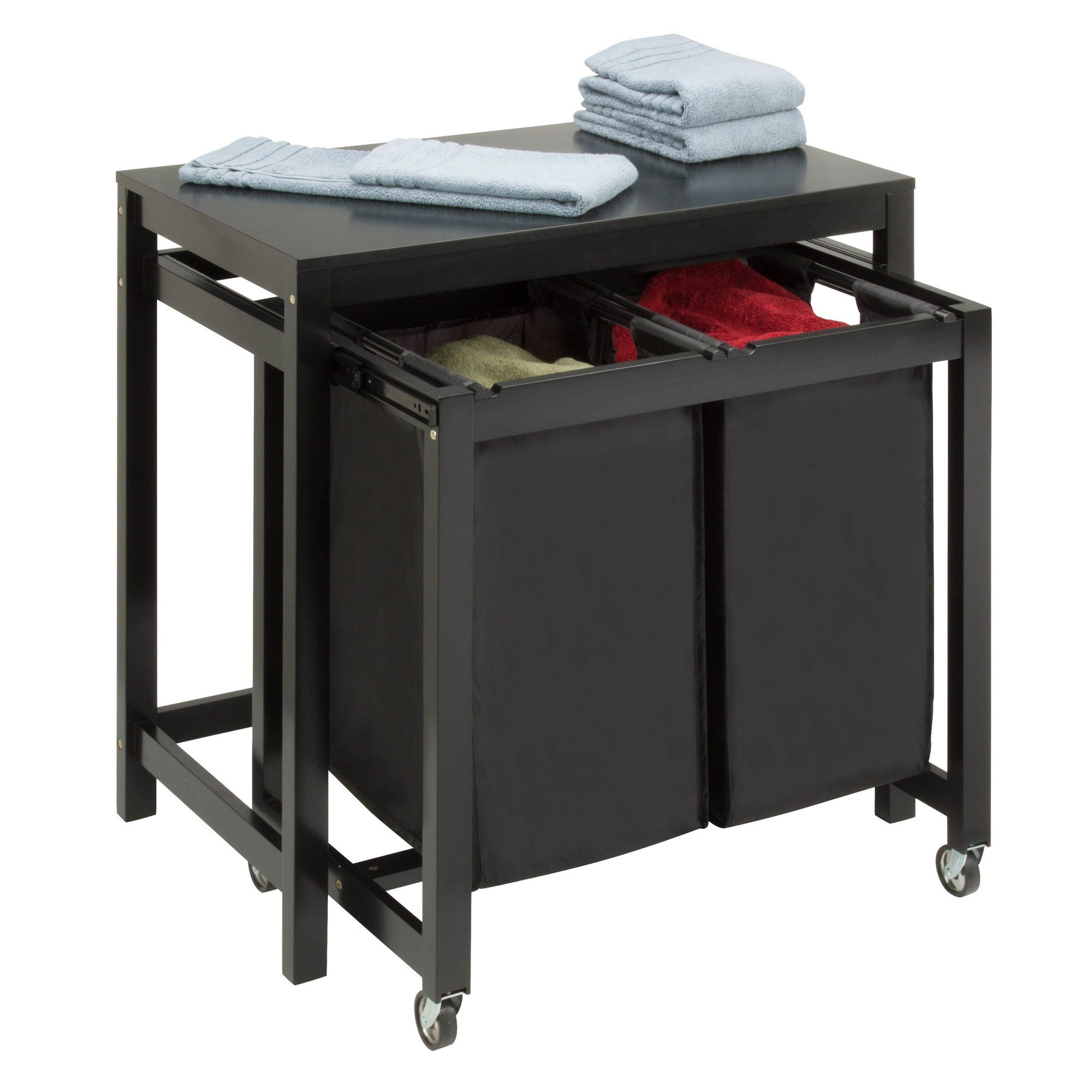 Double Folding Laundry Sorter Laundry Sorter Laundry Room