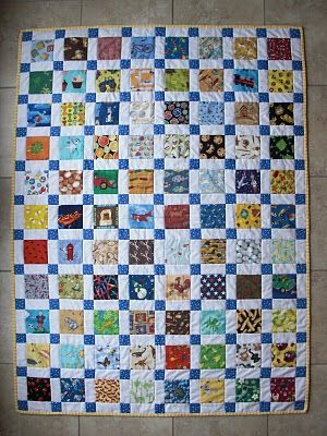 I-Spy Quilt, such a cute idea for toddlers