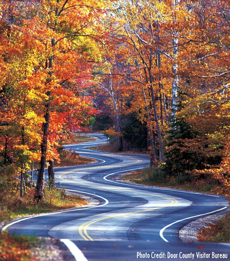 3 Scenic Door County Fall Color Drives Travel Wisconsin Fall Foliage Road Trips Door County Wisconsin Wisconsin Travel