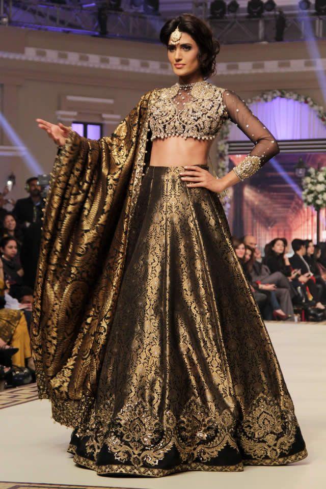Faraz Manan Bridal Collection at Telenor Bridal Couture Week 2014
