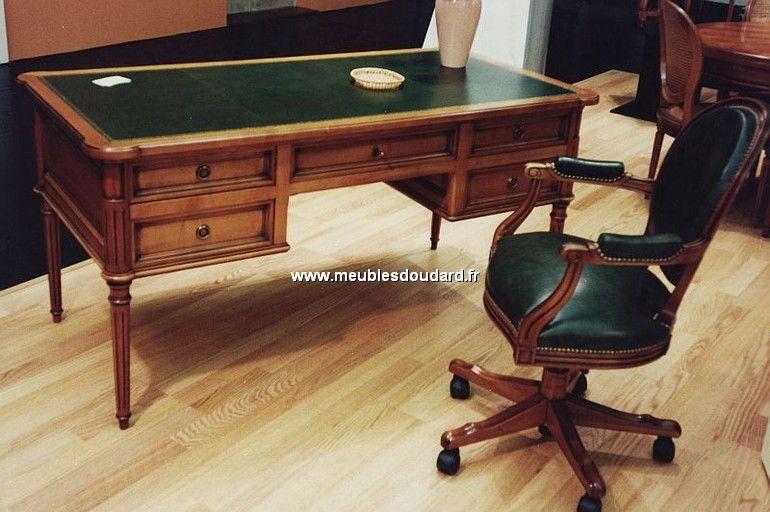 bureau louis xvi merisier mobilier de