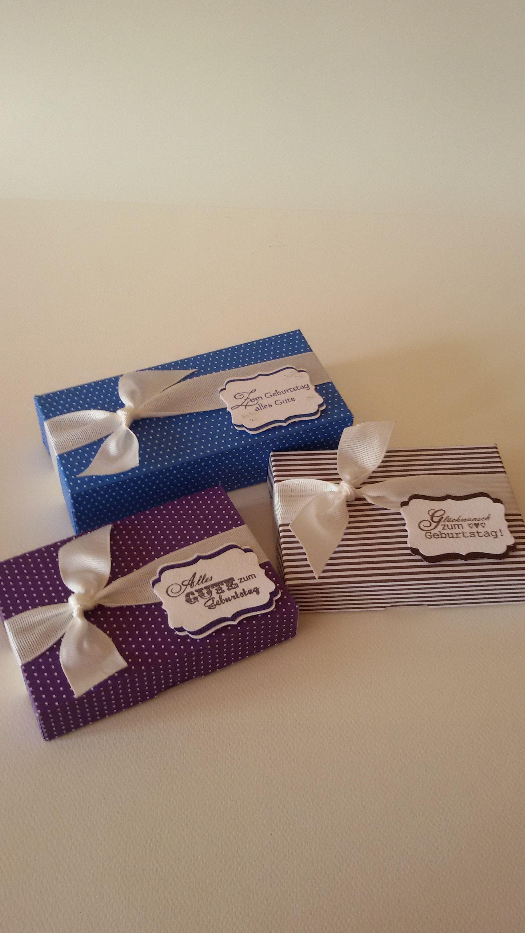 Kleine Geburtstagsgaufmerksamkeiten (verpackt darin sind Gummibärchen)