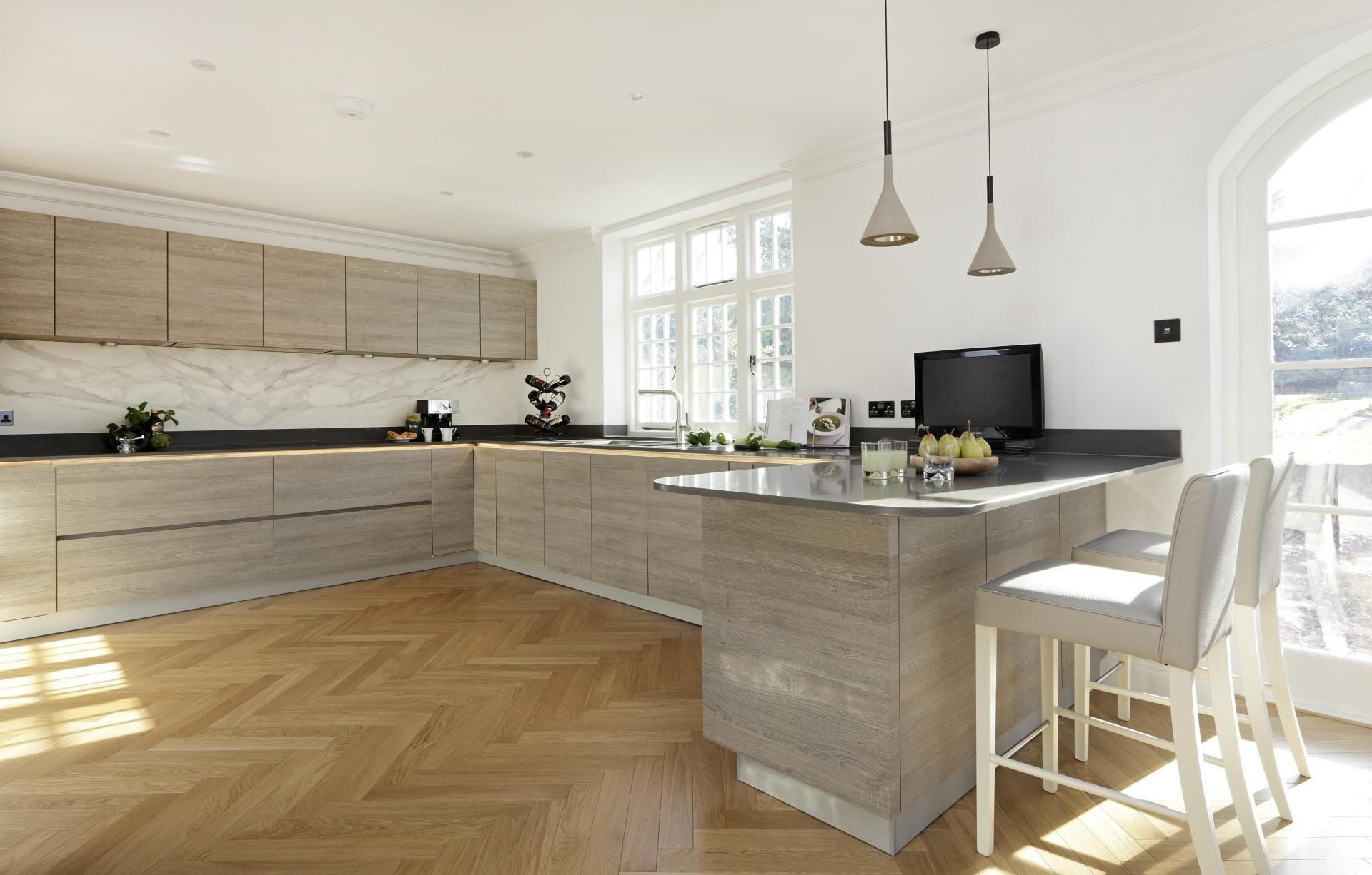 Customer Baracaia   Real Customer Kitchens From ALNO : Halcyon Interiors  Pinner