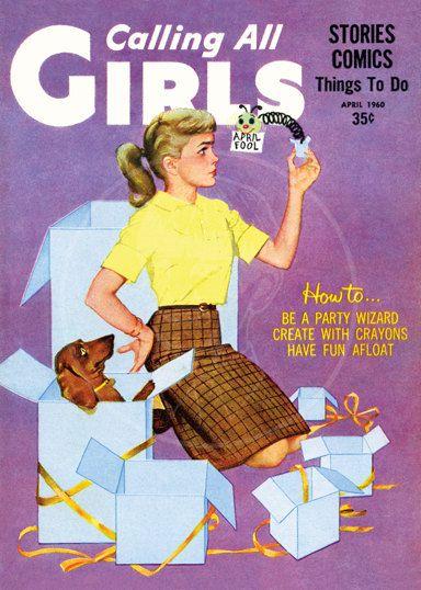 Calling all Girls (Apr 1960)