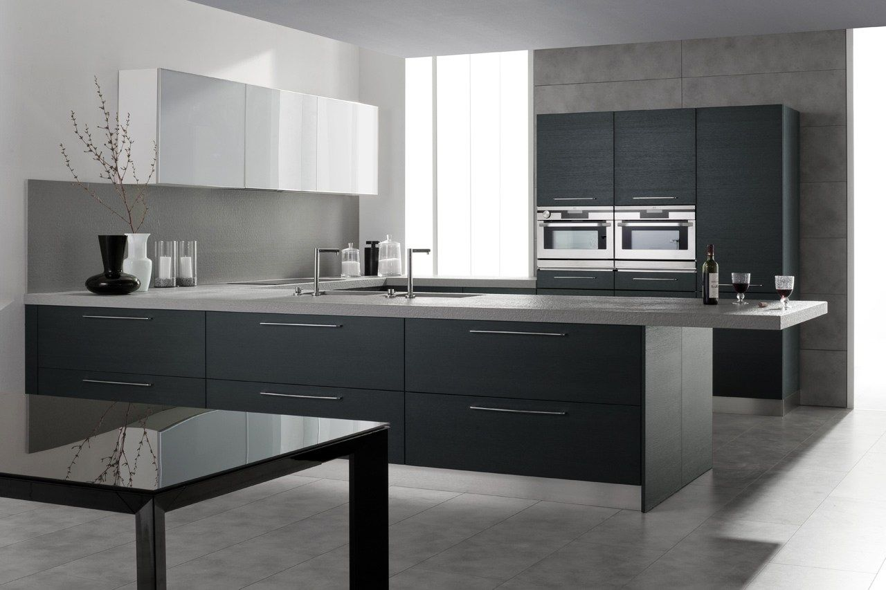 Lacquered wood veneer kitchen SETA by GeD cucine by GeD Arredamenti ...
