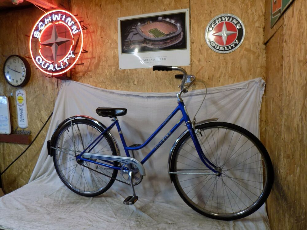 Ebay Sponsored 1981 Schwinn Collegiate Ladies Road Cruiser