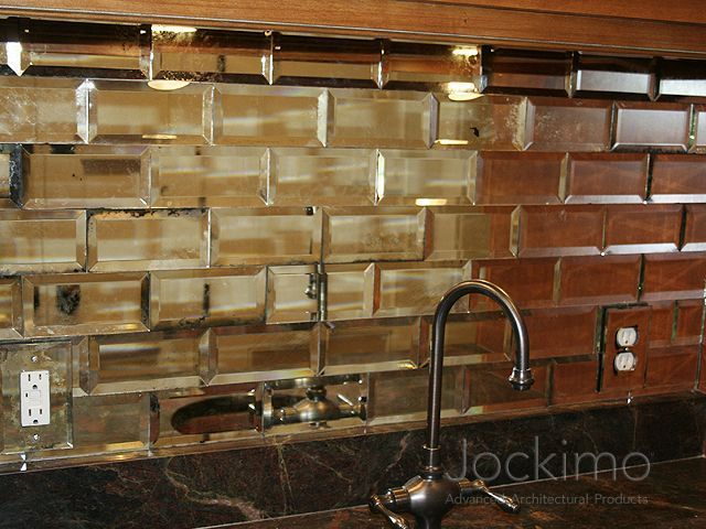 L And Stick Subway Mirror Tiles