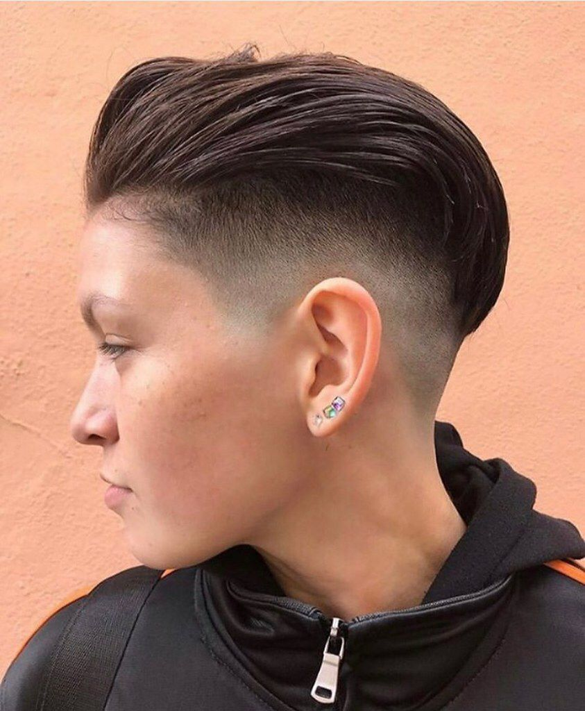 Img 20190802 083905 Faded Hair Fade Haircut Short Hair Styles