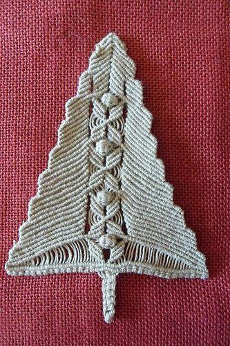 Abete lino | realizzato con filo di lino | Patrizia paris | Flickr