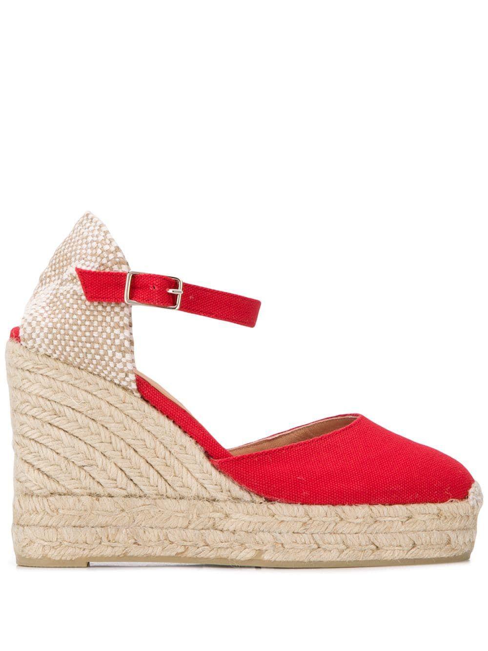 eae13ef0d59 Castañer Carol espadrilles - Red | Products in 2019 | Espadrilles ...