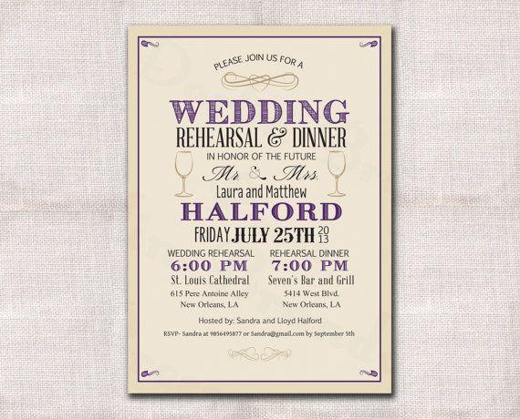 rehearsal dinner invitations samples 21st bridal world wedding