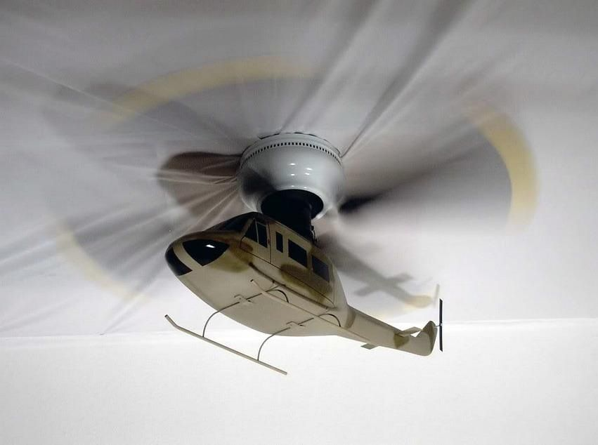 Helicopter ceiling fan … | kids bedroom ideas | Boys …