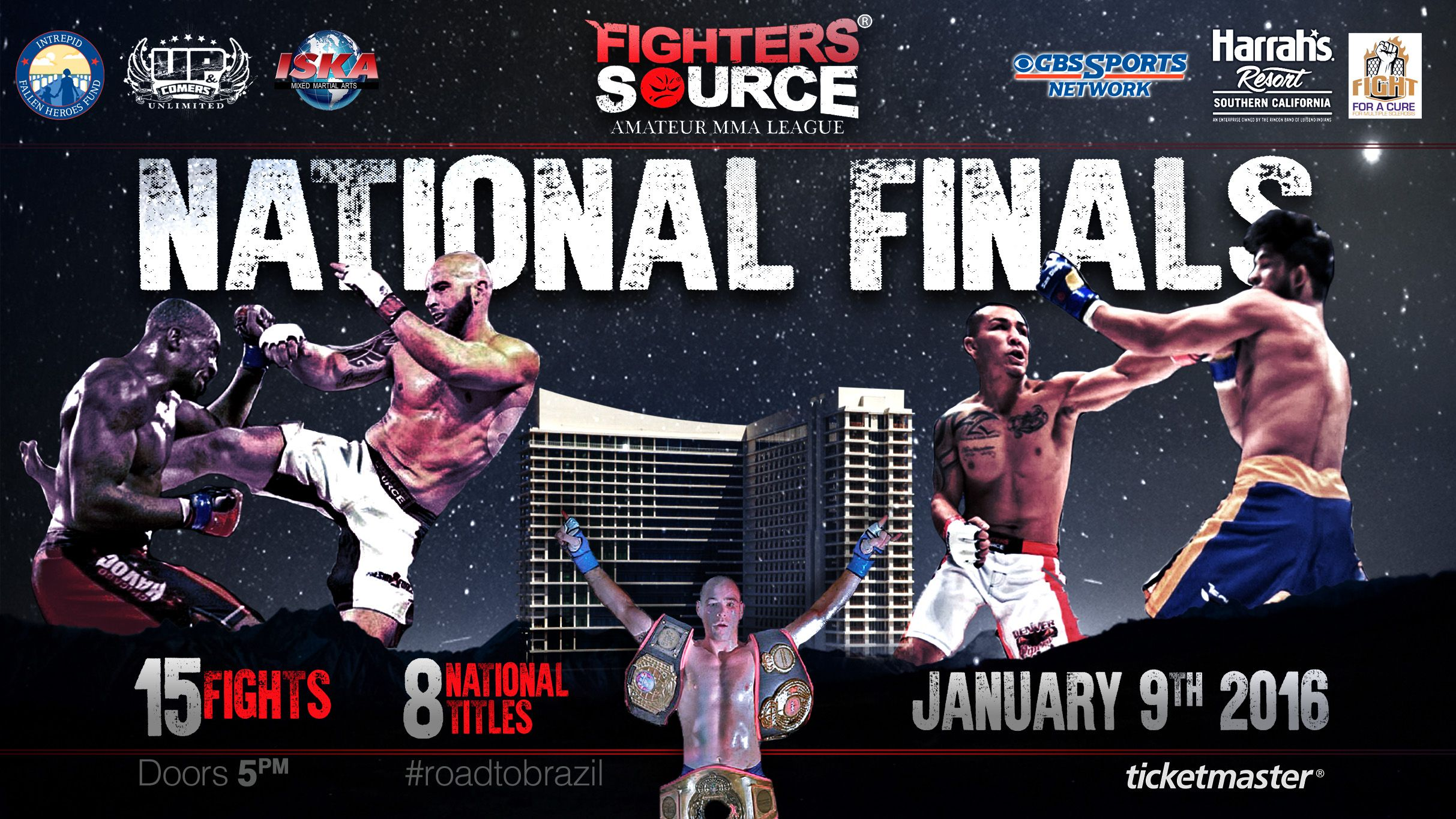 Upc Unlimited Presents Fighter S Source National Finals Finals