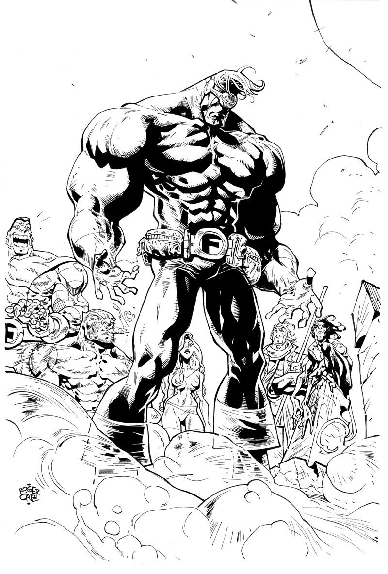 Os Fabulosos Caolho By Rogercruz On Deviantart Parody X Men Coloring Pages