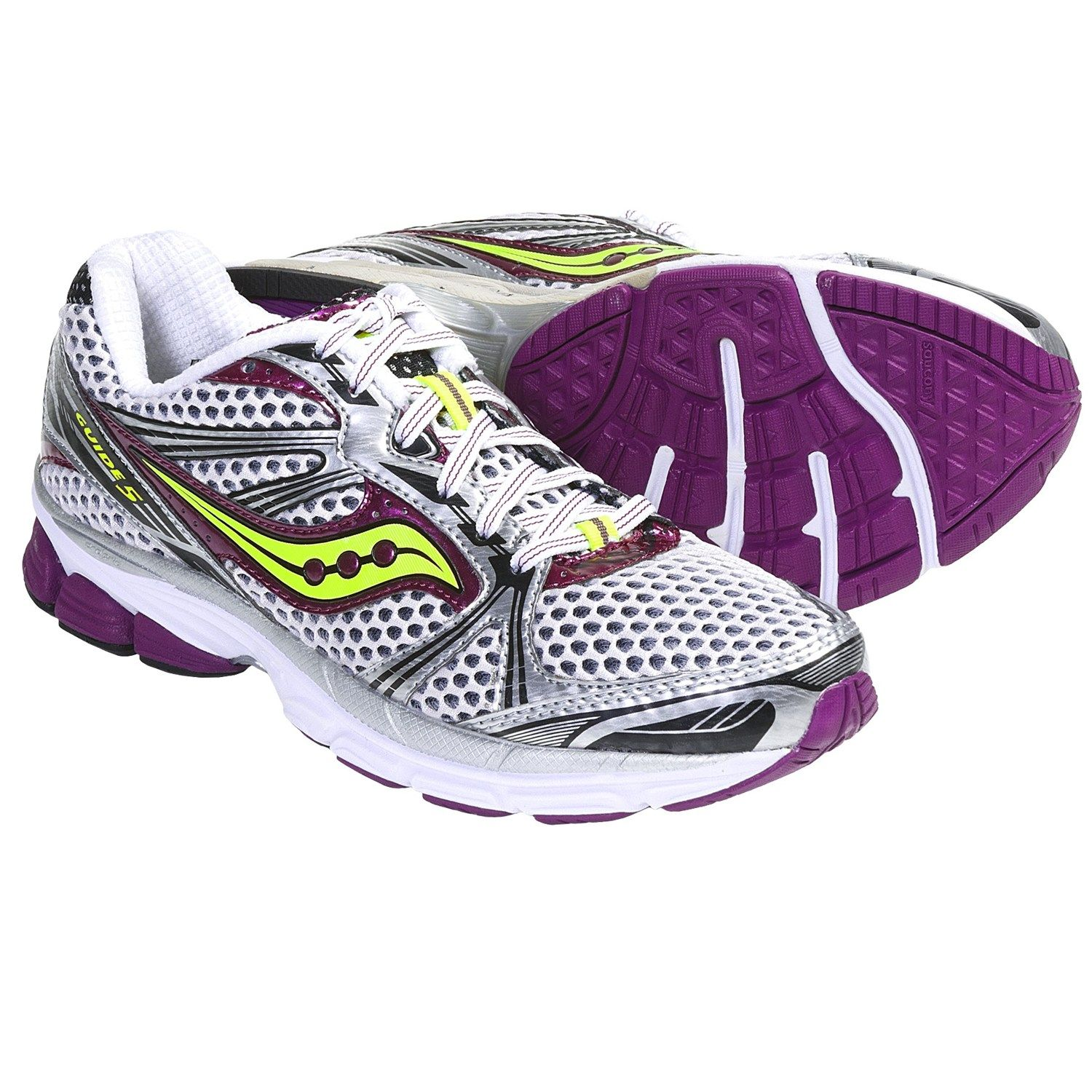 57c2e970470f Saucony ProGrid Guide 5 Running Shoes (For Women)