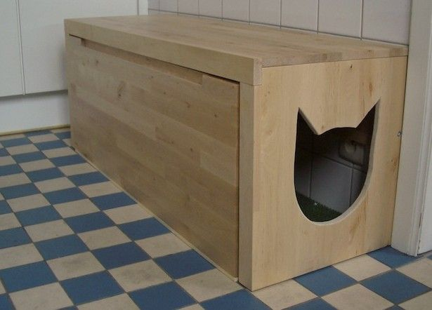 Diy 2 Hidden Entryway Cat Litter Boxes Cat Litter Box Diy