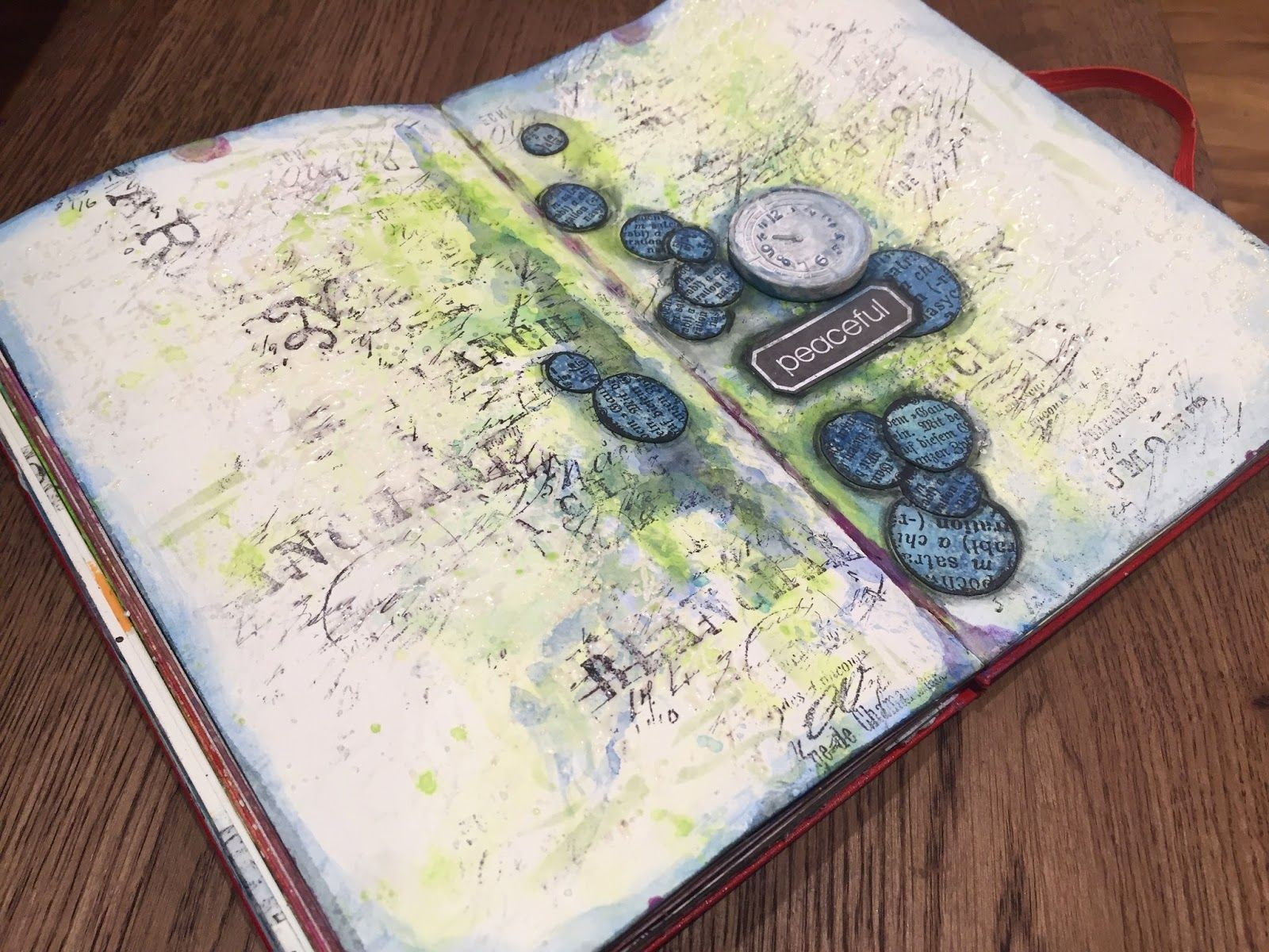 A Peaceful Time - Journal Page