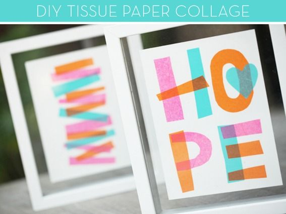 """I am definitely doing this before school starts. It would be an AWESOME addition to my dorm room and would tie everything together to create a great focal point that's both inspiring and colorful! Maybe """"hope"""", """"create"""", """"inspire"""", and """"love"""" for the four posters?"""