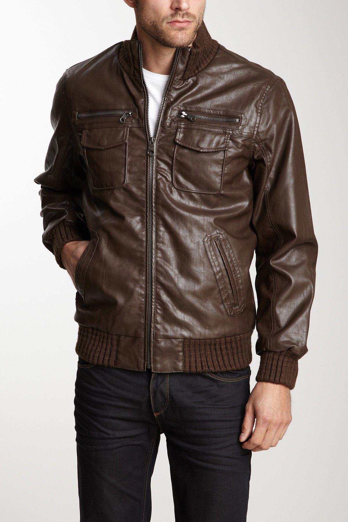 Buffalo David Bitton Leather Jacket Leather Jacket Jackets Leather [ 1800 x 1200 Pixel ]