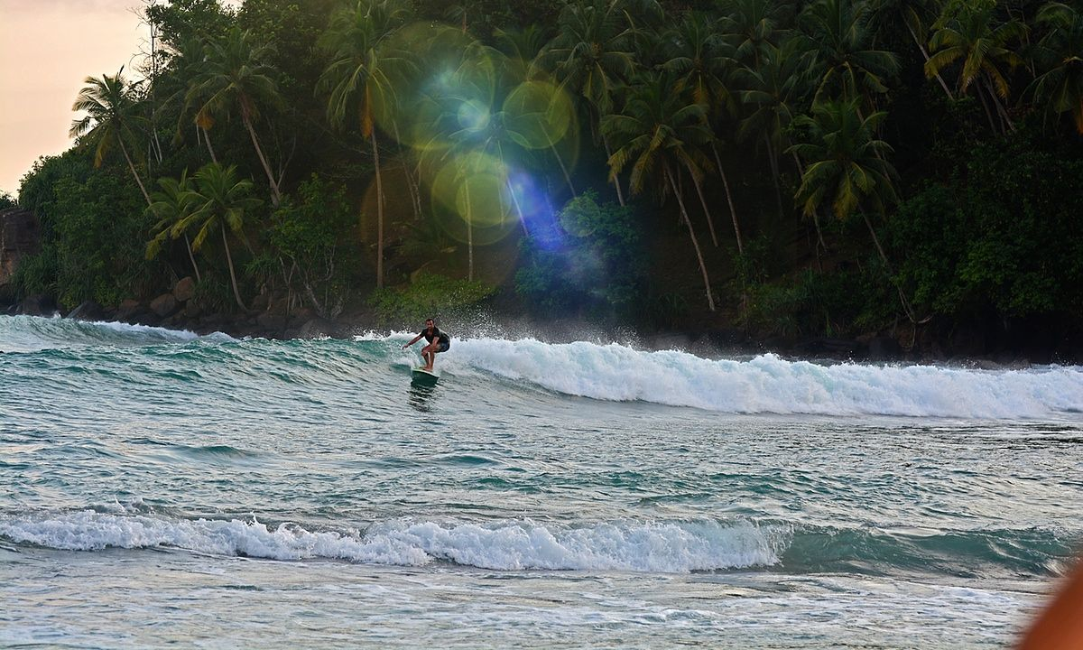 Tropical retreat surfing and yoga in Sri Lanka Surfing