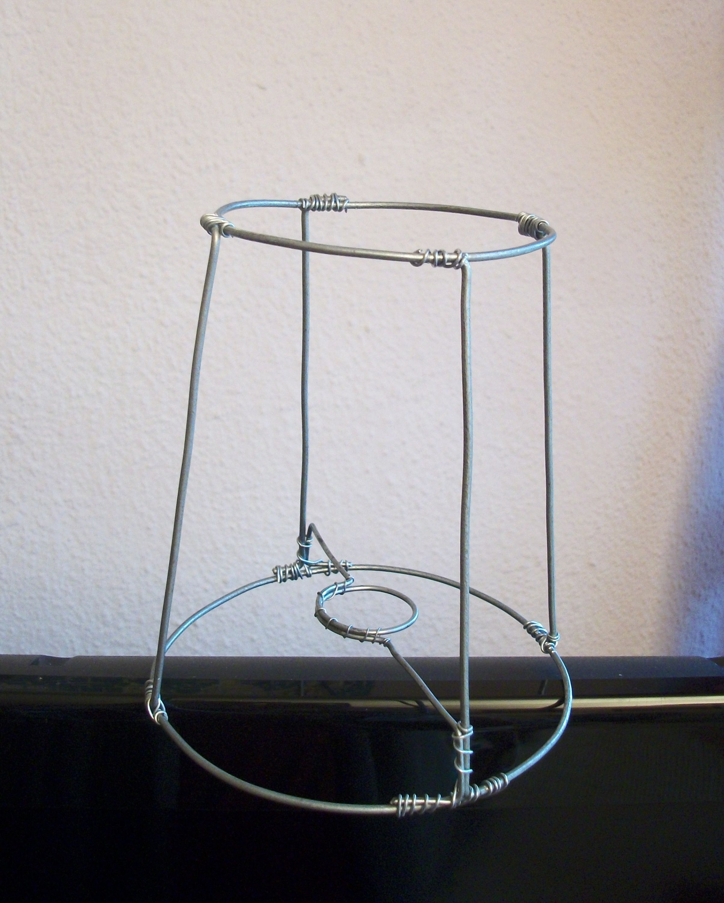 wire frame 1 more lamp shades