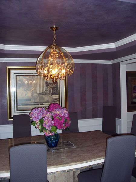 Purple Metallic Paint For Walls