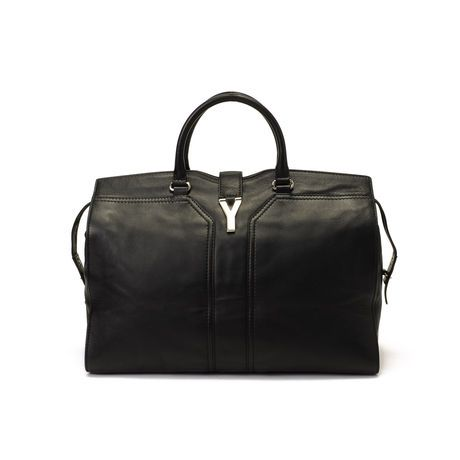 The perfect black day bag. Yves Saint Laurent, Chyc Cabas on sale at LXR & Co.