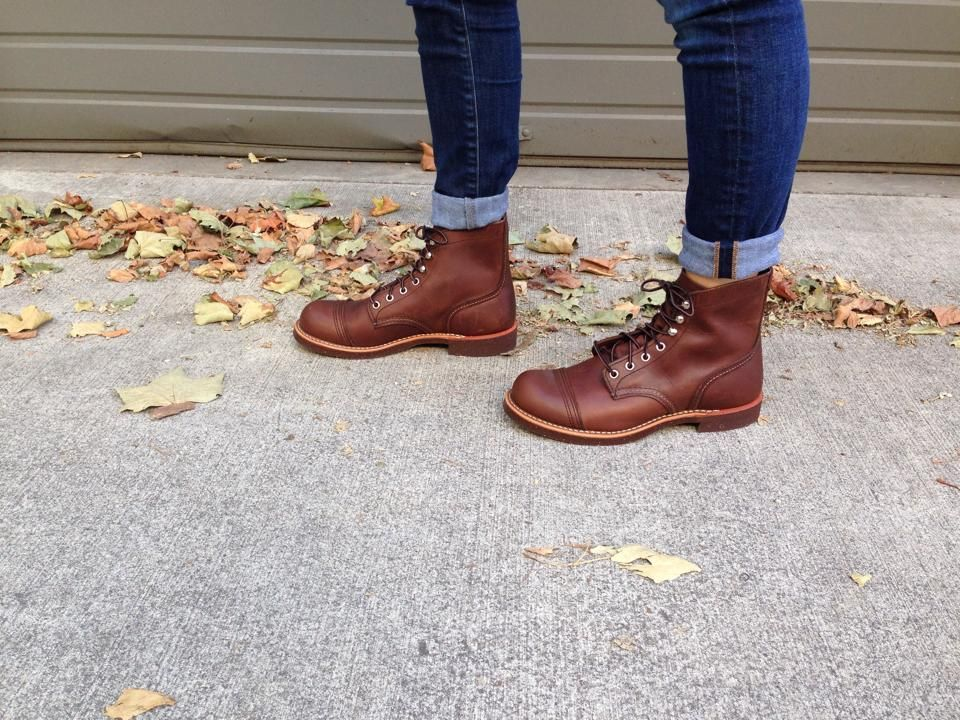 red wing shoes for ladies