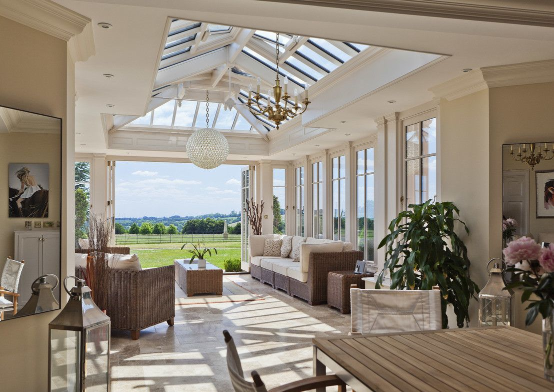 Luxury Sunroom Kitchen Extension
