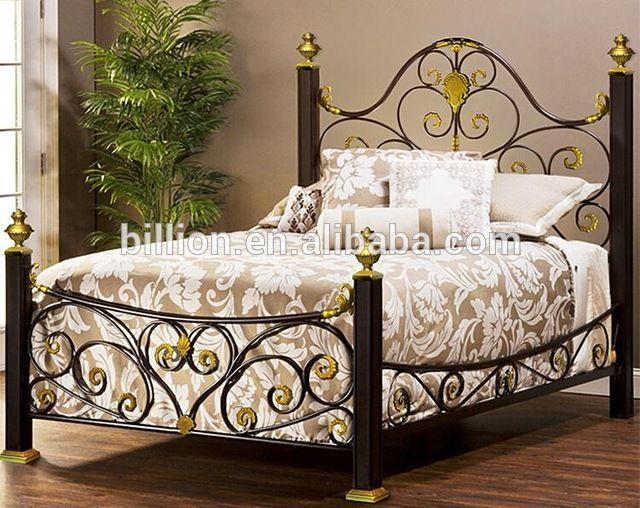 Dormitorio Spanish ~ Cama de hierro forjado en Camas de Mobiliario para