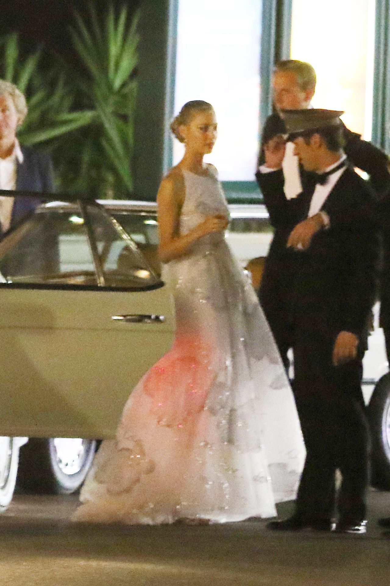 Monaco Bride Marries In Pink Beatrice Borromeo