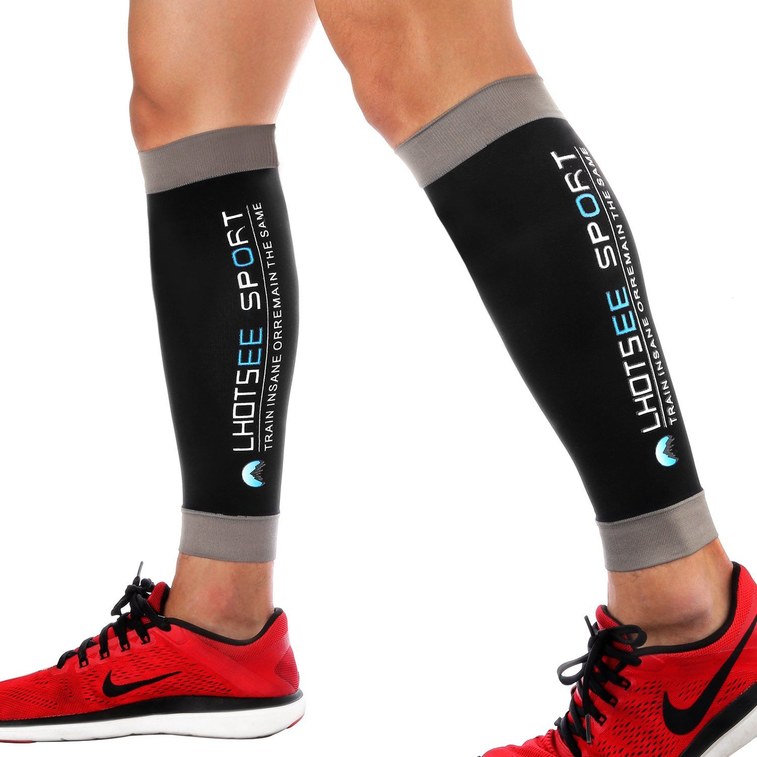 03b4b0a694 Best Compression Calf Sleeves for Women & Men One Pair, Lhotsee Leg  Compression Sleeves for