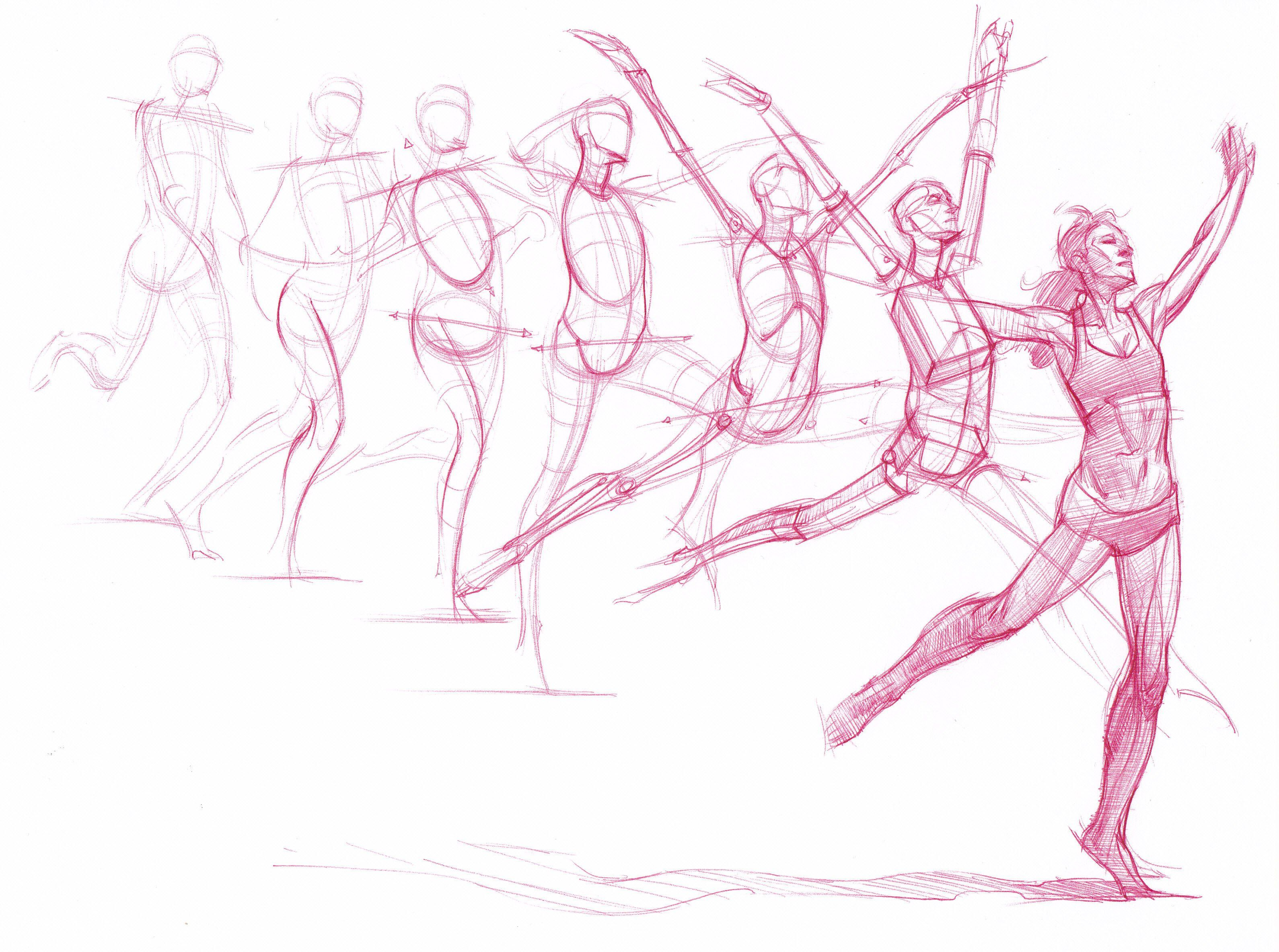 Process Study Scott Eaton 39 S Bodies In Motion Referens
