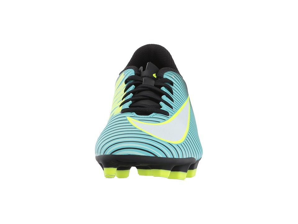 best service 39072 63c09 Nike Mercurial Vortex III FG Women s Soccer Shoes Light  Aqua White Black Volt