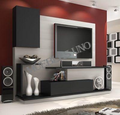 Muebles TV sencillo Inside home Pinterest Mueble tv, Tv y Sencillo - mueble minimalista